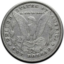 1878 MORGAN SILVER DOLLAR COIN Lot # A 573 image 2