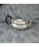 James Dixon & Sons Pewter and Wood Teapot - $63.58
