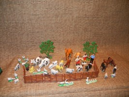 Vintage Small Farm Animal Playset - $18.00