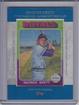 GEORGE BRETT 2013 Topps Manufactured Commemorative Rookie Patch #9 (D2860) - $10.76