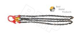 "Chain Sling - 5/16"" x 7´ Double Leg Lifting Chain Powder Coating 2T WLL ... - $167.26"