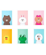 LINE Friends Ruled Note Book B5 Character Desk School Acc Gift Teens Kid... - $9.98