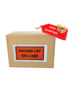 "36000 5.5 x 10 Full Faced Document Packing List Enclosed Envelopes 5.5"" ... - $1,250.82"
