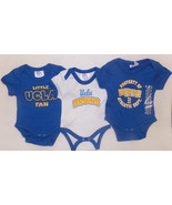 UCLA Bruins Infant Boys 3pc Bodysuit Set Size 0... - $11.29