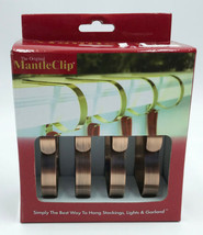 Haute Decor The Original MantleClip Stocking Holder, 4 Pack - Oil-Rubbed... - $16.99
