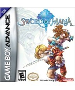 Sword Of Mana GBA Great Condition Fast Shipping - $19.93