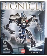 LEGO Bionicle Set #8623 Krekka NEW SEALED (203 PCS) - $229.80
