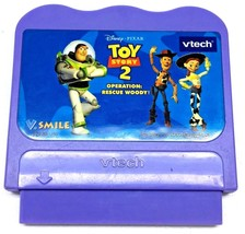 Vtech V Smile Disney's Toy Story 2 Operation Rescue Woody Game Cartridge... - $14.82