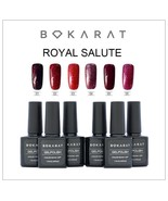Bokarat Royal Salute Series 6 Bottles 7.3ml Set Gel Nail Polish Soak Off... - $21.99