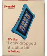 Genuine Nabi 2 Tablet Bumper Blue Protective Case Protective Drop Cover ... - $29.95