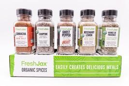 Organic Seasoned Sea Salts Gift Set - $24.99