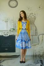 Anthropologie Azure Lace Dress Plenty by Tracy Reese Sz 0P image 8