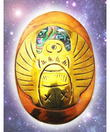 Haunted copper scarab pendant thumbtall