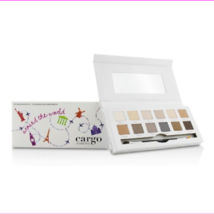 Cargo Around the World Eye Shadow Palette (12x Eye Shadow 1x Shadow Brush) - $14.07