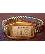 Antique 1925 Bulova Art Deco 10k Rolled Gold Ladies Watch 7 Jewels Works... - $189.95