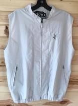 Zero Restriction golf outerwear ZR ladies vest gray size M - $23.15