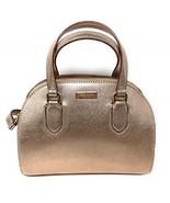 kate spade Mini Reiley Laurel Way Satchel Crossbody Bag in Rose Gold  - $139.00