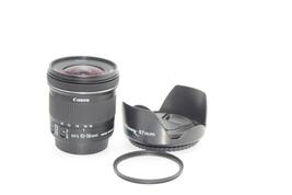 Canon EF-S 10-18mm f/4.5-5.6 IS STM Lens, Hood, UV filter - $250.00