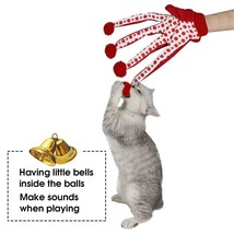 Lovely Toy Ball Puppy Toy Cute Polka Dot Scratch Glove Toy Play With Kit... - $13.38