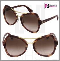 Prada Soft Pop Evolution Sunglasses 18S Spotted Brown Pink PR18SS - $207.90