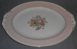 "Homer Laughlin - Eggshell Georgian ARCADIA PATTERN 16"" Large Oval Platter - $39.59"
