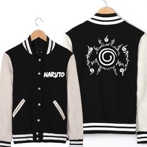 Naruto baseball uniform Hip Hop Winter Warm Jacket - $46.99