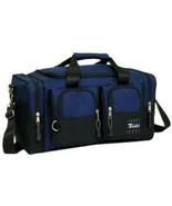 Royal Blue Duffelbag Duffel Bag Multi Pocket 28 Inch Travel Huge Big Duf... - $28.59
