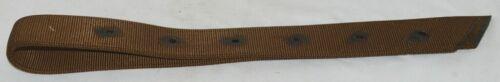 Unbranded Nylon Off Billet Twelve Hole Brown Color 2365