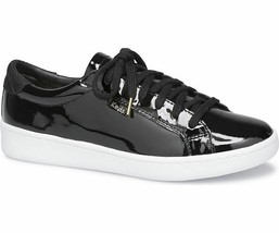 Keds WH59007 Women's Ace Patent Leather Lace-Up Sneaker Black Size 7 - $39.59