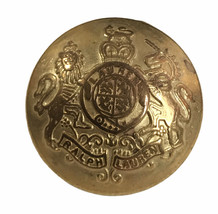"""Vintage Ralph Lauren Coat of Arms Gold Color Replacement Sleeve button .60"""" - $3.83"""