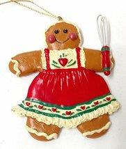 Gingerbread Kid Ornament (Girl) - $10.00