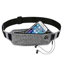 Sports Belt Running Waist Pouch Mobile Phone For Unisex With Hidden Gym ... - $6.99