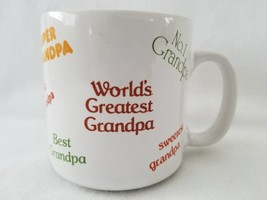 World's Greatest Best Sweetest Grandpa Coffee Mug Tea Cup by Russ Berrie... - $24.99
