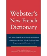 Websters New World French Dictionary - $3.85