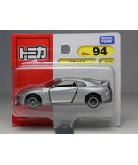 TOMICA NO.94 NISSAN GT-R SILVER BLISTER 1/61 TAKARA TOMY JAPAN - $4.99