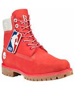 MEN'S TIMBERLAND X NBA HOUSTON ROCKETS BOOTS - $199.99