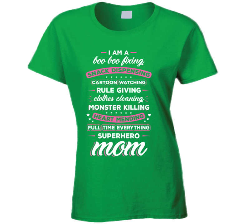 Full Time Superhero Mom Tshirt
