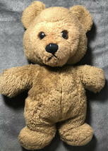 "Very Rare Antiqua Vintage Dakin 1978 Teddy Bear Black Eyes 13"" - $24.74"