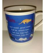 Vintage 1988 Hallmark Mug Mates Collectible Coffee Mug Cup Cats Poem - $22.76