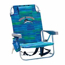 Tommy Bahama 1650033 Backpack Cooler Chair with Storage Pouch and Towel ... - £61.06 GBP