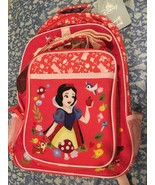New Disney Snow White School Backpack, Lunch tote Back to School with tags - $55.42