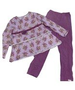 American Girl Bitty Baby Purple Top/Pants Set Outfit for Girls Sz 6/6X - $28.80
