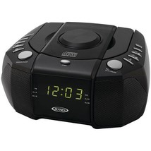 Dual Alarm Clock AM/FM Stereo Radio with Top-Loading CD Player  - $44.99