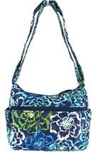 NWT VERA BRADLEY KATALINA BLUES ON THE GO CROSSBODY/SHOULDER BAG - $44.00