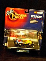 Winner's Circle NASCAR  Pit Row Series#3 blue and yellow  Dale Earnhardt / Tires