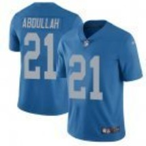 Men's Detroit Lions #21 Ameer Abdullah Blue Throwback Limited Stitched J... - $54.99