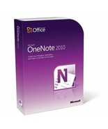 "MICROSOFT OFFICE ONE NOTE 2010  ""French - $39.99"