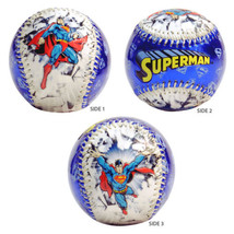 Nuevo Superman Azul Break Coleccionable Grabado Beisbol Souvenir Dc Comics - $34.62