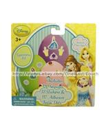 DISNEY PRINCESS* Decorating Kit EGGCESSORY Sequins+Stickers+Foam Dots EA... - $2.98