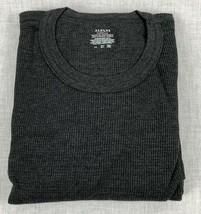Alfani Men's Thermal Knit Waffle Crew Shirt Cotton Blend - $11.99